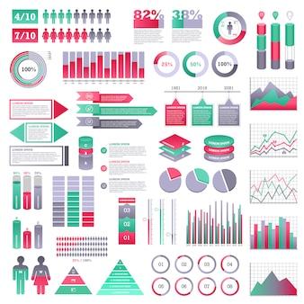 Infographics elements set