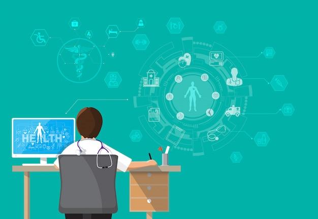 Infographics health,