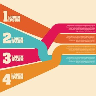 Infographics lines