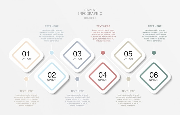 Infographics for presentation slide template.