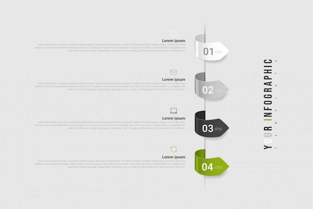 인포 그래픽 : 보고서, 흐름도, 다이어그램, 프리젠 테이션