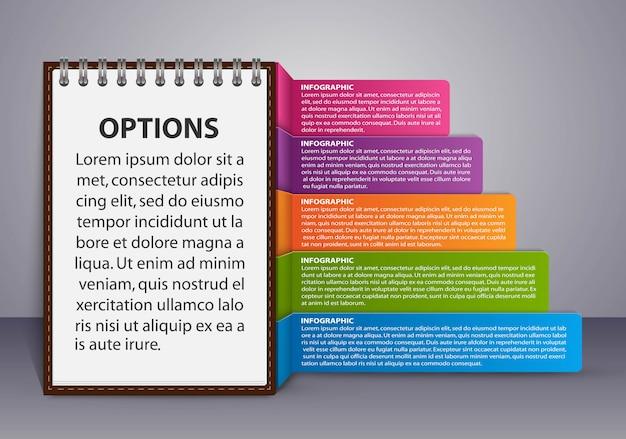 Инфографика шаблон для бизнес-презентаций.