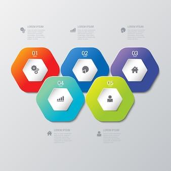 Infographics 템플릿