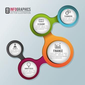 Infographics vector design illustration