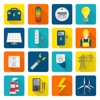 Infography about energy