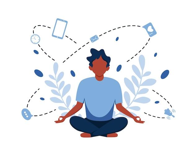 Информационный детокс и медитация