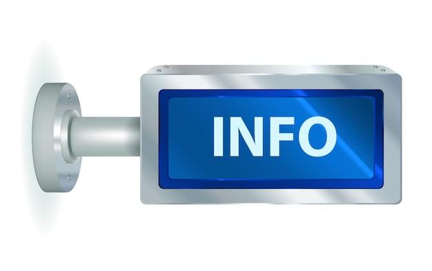 Information display panel