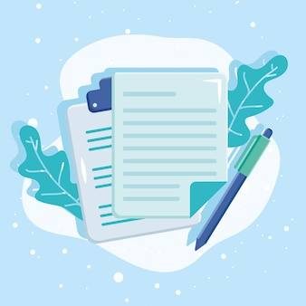정보 문서 및 펜