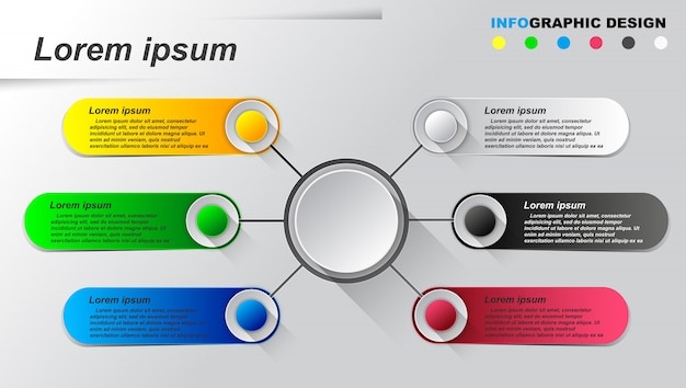 Information graphics template.