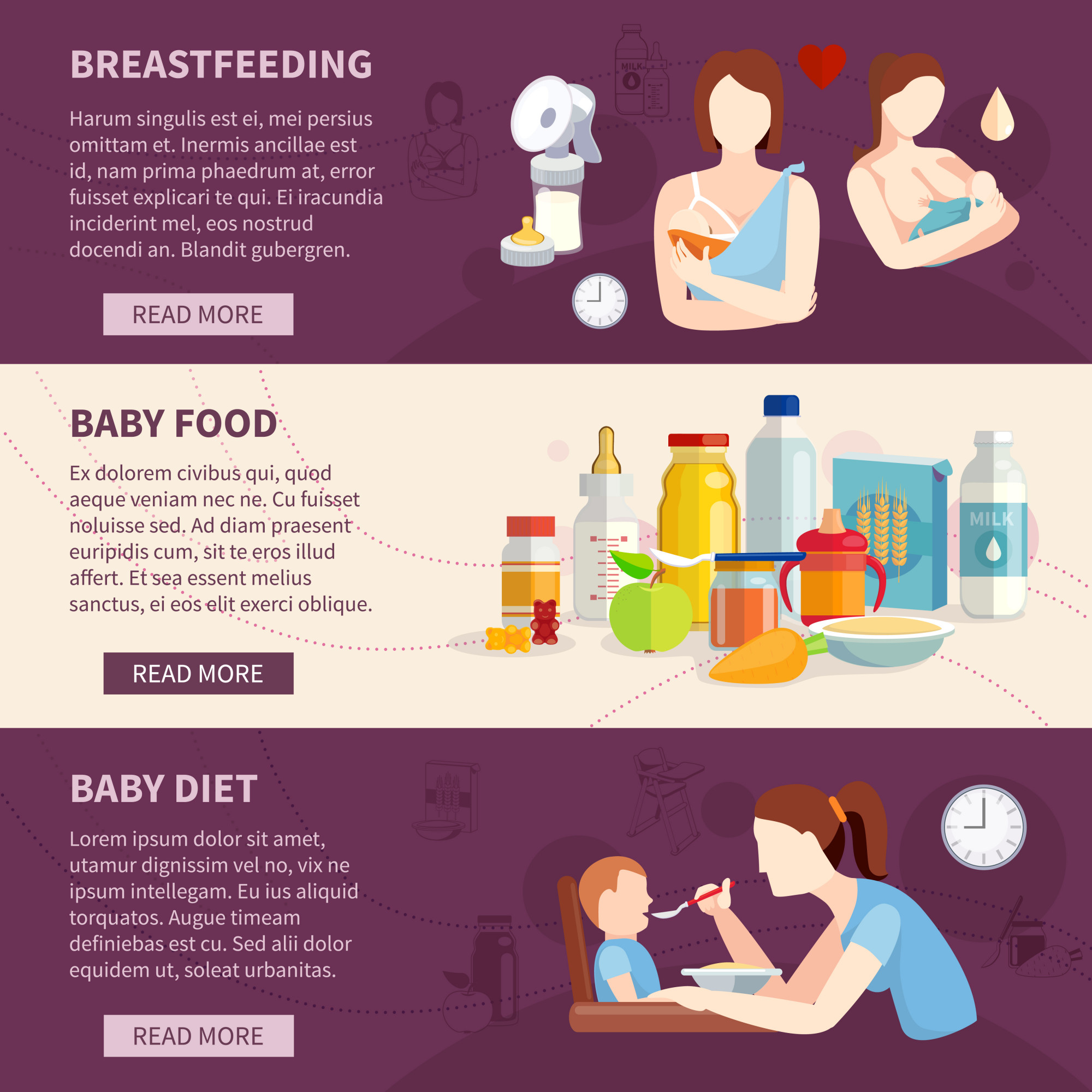 Information on babies breastfeeding and toddlers best food choices