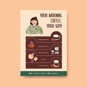 Information template for daily life