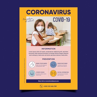 有益なコロナウイルスチラシ