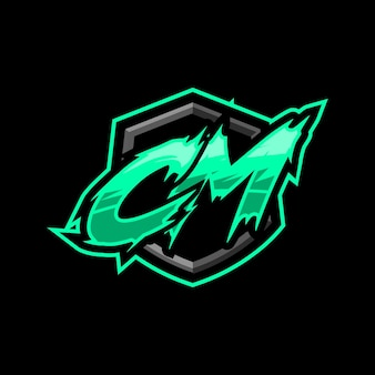 Начальный игровой логотип cm