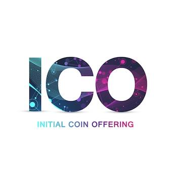 Шаблон фона предложения монет