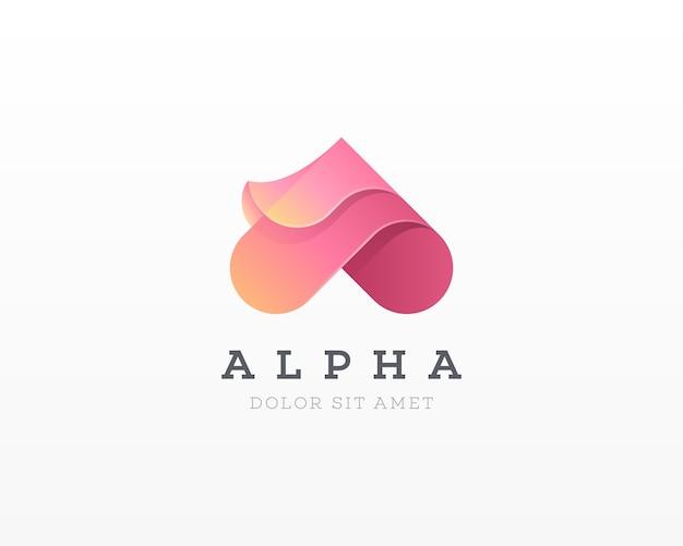 頭文字のロゴ