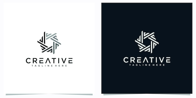最初の文字のロゴのデザインは抽象的です。文字eのクリエイティブなロゴのインスピレーション。文字mロゴデザイン抽象