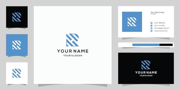 패션 자동차 기술 디지털 비즈니스를 위한 초기 문자 r 또는 rh 로고 및 명함 템플릿 아이콘