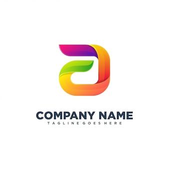 A initial modern logo