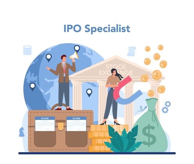 Initial public offerings specialist