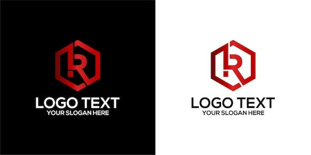 Буквица t в голове оленя и рог логотип с визитной карточкой