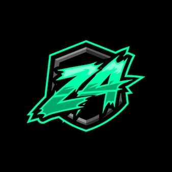 이니셜 za 게임 로고