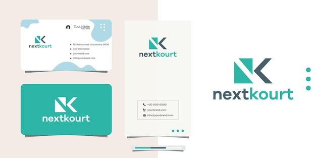 Initials next logo technology