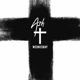 잉크 재 수요일 십자가