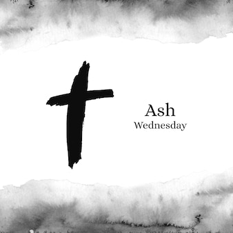 Ink ash wednesday