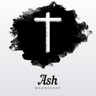 Ink ash wednesday