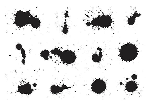 Ink blots collection