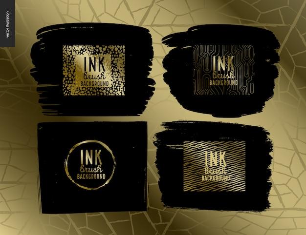 Ink brush group set