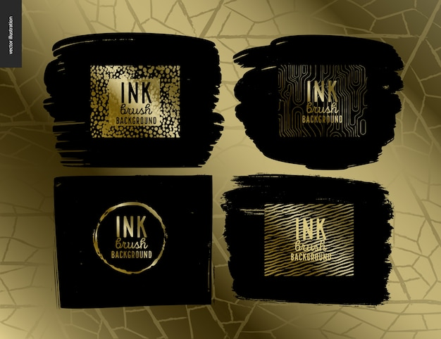 Набор ink brush group
