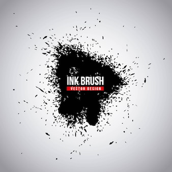 インクブラシグランジペイント要素汚れのテクスチャのテクスチャ