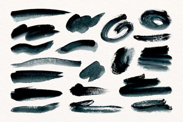 잉크 브러시 스트로크 컬렉션
