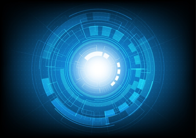 혁신 기술 및 디지털 하이테크 배경