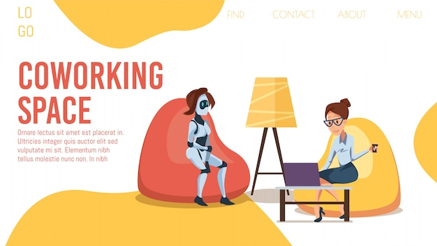 Innovative coworking office flt  web banner