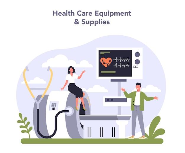 경제의 혁신적인 의료 산업 부문