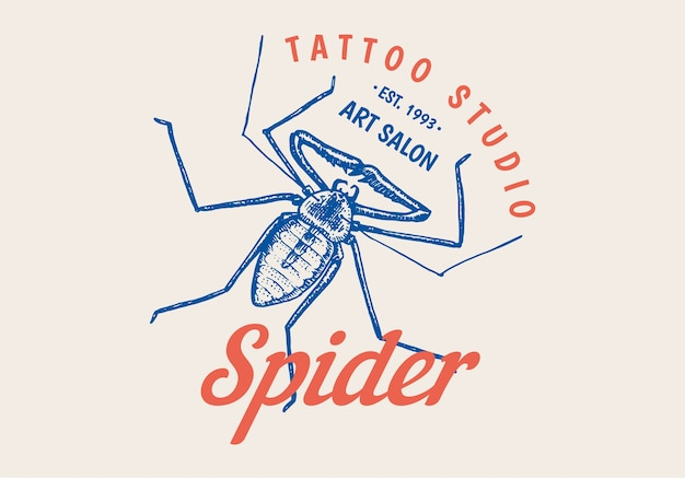 Insect logo for bar or tattoo studio