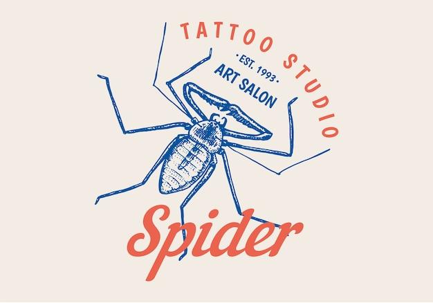 Логотип насекомых для бара или тату-студии