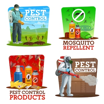 Insects extermination service at home and gardens