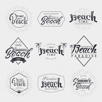 Insignia is made with the help of lettering and calligraphy skills, use the right typography and composition.
