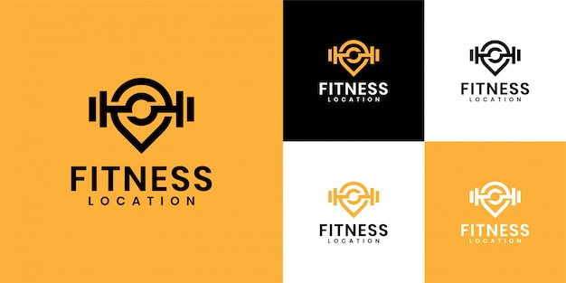 The inspiration for the logo is to combine the gym logo and location logo
