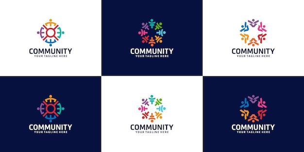 Вдохновляющая коллекция логотипов для групп людей, организаций и сообществ.