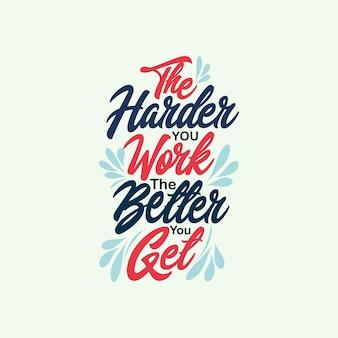Вдохновляющие позитивные цитаты типографский плакат с дизайном футболки мотивации жизни