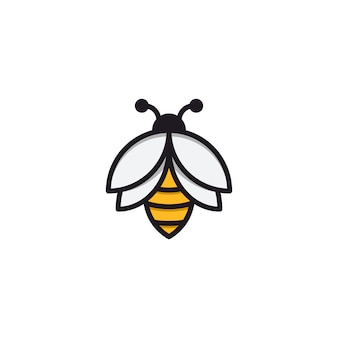 Inspire bees with a simple line style
