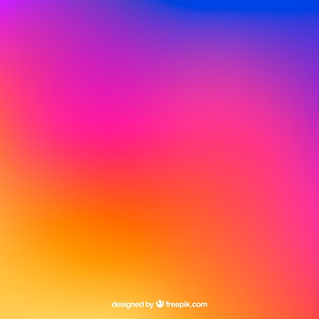 Free Instagram background in gradient colors SVG DXF EPS PNG