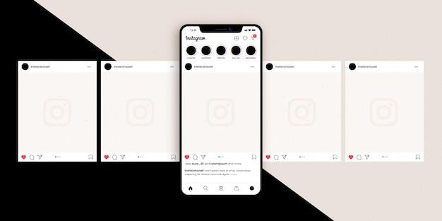 Instagram 캐 러셀 인터페이스