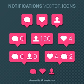 Instagram notification collection