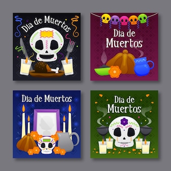 Instagram post collection day of the dead