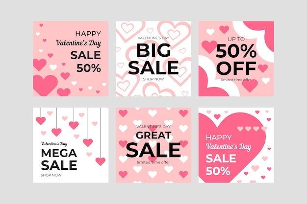 Instagram post collection for valentine day sales
